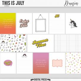 This is July | Cards
