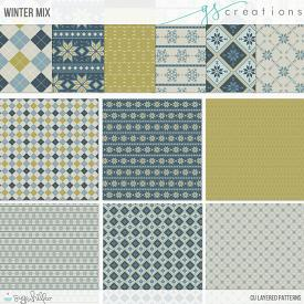 Winter Mix Layered Patterns (CU)
