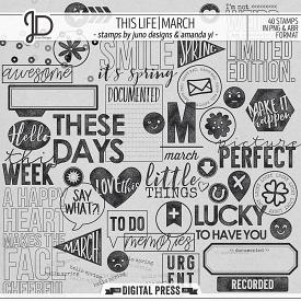 This Life | March - Stamps