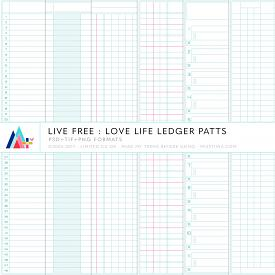Live Free : Love Life Ledger Patts (CU)
