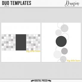 Duo Templates | Vol.5