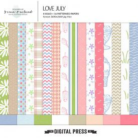 Love July - Paper Pack