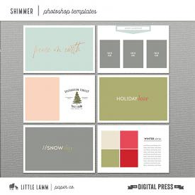 Shimmer│Photoshop Templates