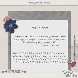 wm2_Krista | The Font