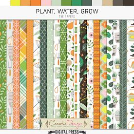 PLANT, WATER, GROW | PAPERS