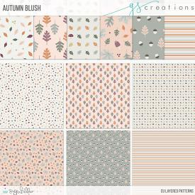 Autumn Blush Layered Patterns (CU)