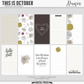 This is October | Traveler's Notebook