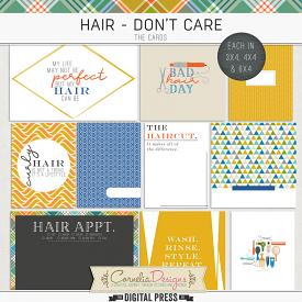 HAIR - DON'T CARE | POCKET CARDS