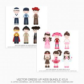 Bundle :: Dress Up Kids (CU)
