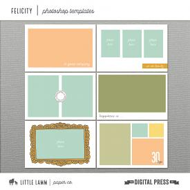 Felicity│Photoshop Templates