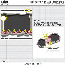 Torn Paper Play 08 | Templates