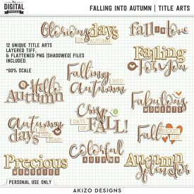 Falling Into Autumn | Title Arts