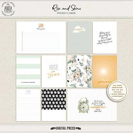 Rise and Shine | Pocket cards
