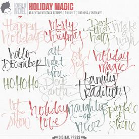 Holiday Magic | sentiment stacks