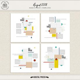Make it Count: August 2018 | Templates