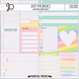 Just The Basics | Journal Cards Vol.2