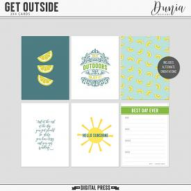 Get Outside | 3x4 Cards