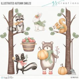 Autumn Smiles Illustrated (CU)
