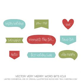 Very Merry Word Bits (CU)