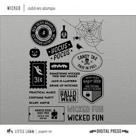 Wicked│Add-on Stamps