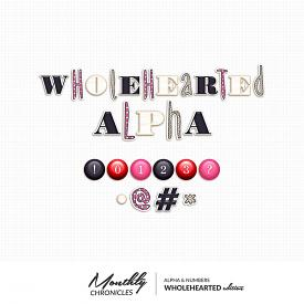 Monthly Chronicles | Wholehearted Alphas
