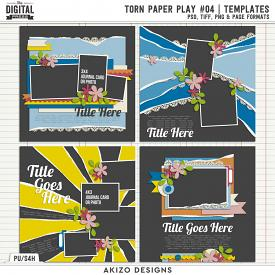 Torn Paper Play 04 | Templates