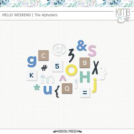 Hello Weekend : The Alphabets