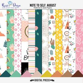 Note To Self August | Papers