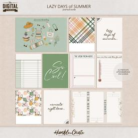 Lazy Days of Summer | Journal Cards