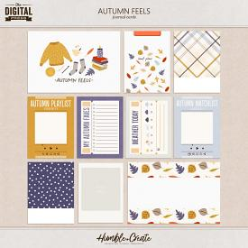 Autumn Feels | Journal Cards