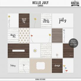 Hello July | Cards