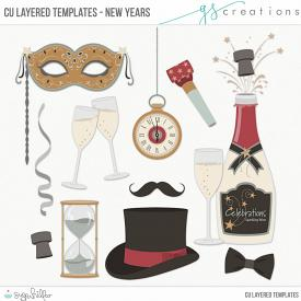 New Years Layered Templates (CU)