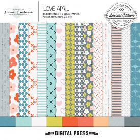 Love April - Paper Pack