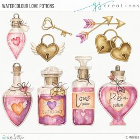 Watercolour Love Potions (CU)