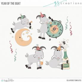 Year of the Goat Layered Templates (CU)