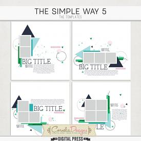 THE SIMPLE WAY 5 | TEMPLATES