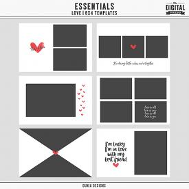 Essentials | Love - 6x4 Templates