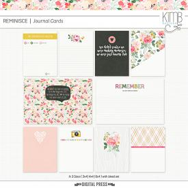 Reminisce : Journal Cards