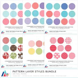 Bundle :: Pattern Layer Styles (CU)