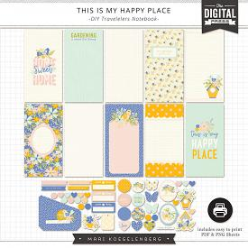 This is my Happy Place | Travelers Notebook Inserts