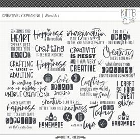 Creatively Speaking | Word Art