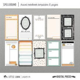 Spellbound│Travel Notebook Templates