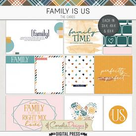 FAMILY IS US | POCKET CARDS