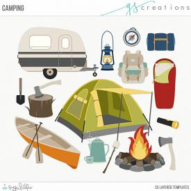 Camping Layered Templates (CU)