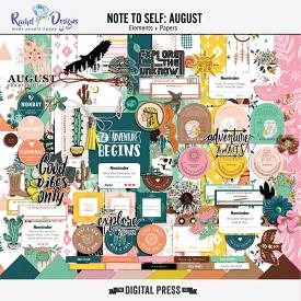 Note To Self August | Kit