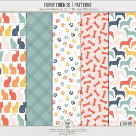 Furry Friends Patterns (CU)