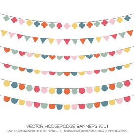 Hodgepodge Banners (CU)