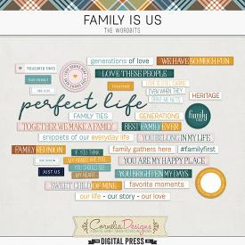 FAMILY IS US | WORDBITS