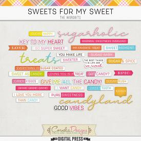 SWEETS FOR MY SWEET | WORDBITS