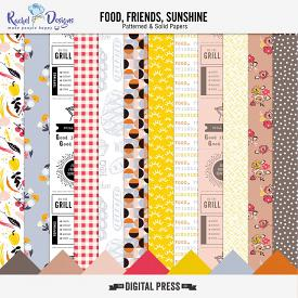Food Friends Sunshine | Papers